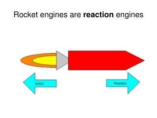 Rocket engines are  reaction  engines