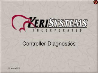 Controller Diagnostics