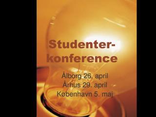 Studenter-konference