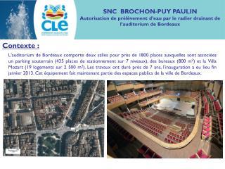 SNC  BROCHON-PUY PAULIN