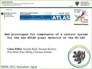 New prototypes for components of a control system for the new ATLAS pixel detector at the HL-LHC