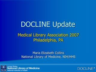 DOCLINE Update