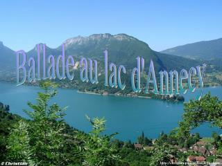 Ballade au lac d'Annecy