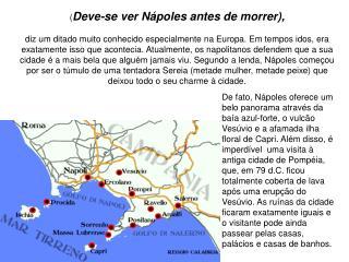 ( Deve-se ver Nápoles antes de morrer),