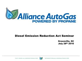 Diesel Emission Reduction Act Seminar Greenville, SC July 28 th  2010