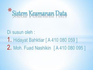 Sistem Keamanan Data
