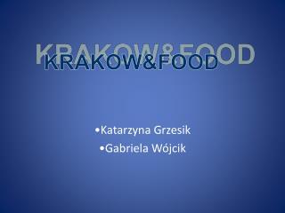KRAKOW&FOOD