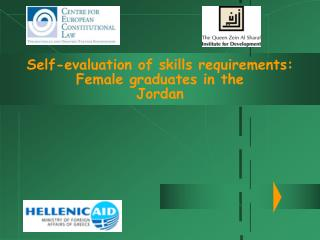 Self-evaluation of skills requirements: Female graduates in the Jordan