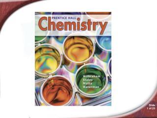 15.1 Chemistry