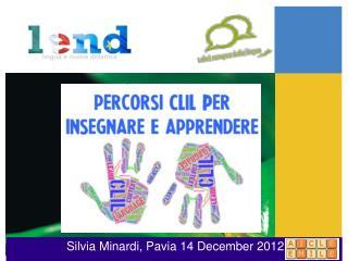 Silvia Minardi, Pavia 14 December 2012