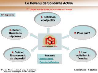Le Revenu de Solidarité Active