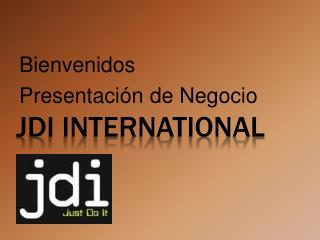 JDI INTERNATIONAL