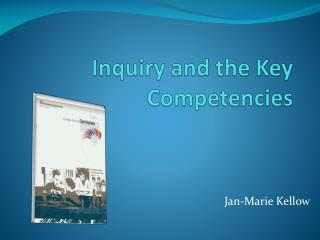 Inquiry and the Key Competencies