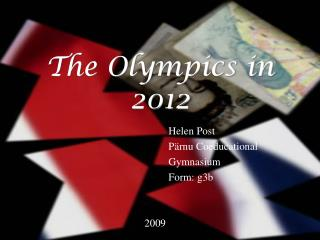 The Olympics in 2012