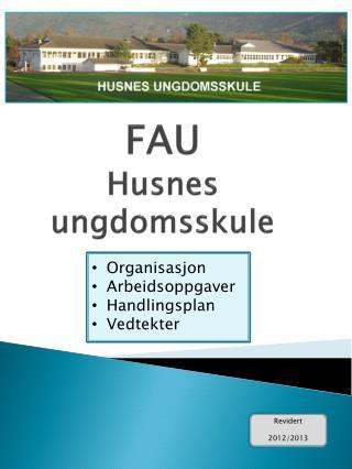 FAU Husnes  ungdomsskule