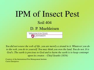 IPM of Insect Pest