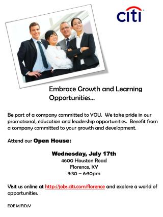 Embrace Growth and Learning Opportunities…