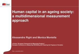 Human capital in an ageing society: a multidimensional measurement approach