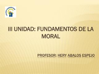 PROFESOR: HERY ABALOS ESPEJO