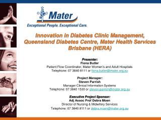 Queensland Diabetes Clinic (QDC)
