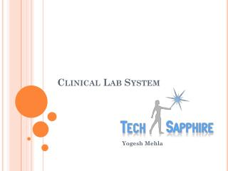 Clinical Lab System