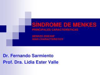 S NDROME DE MENKES PRINCIPALES CARACTER STICAS  MENKES DISEASE MAIN CHARACTERISTICS