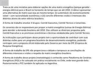 CEN ÁRIOS ENERGÉTICOS BRASIL