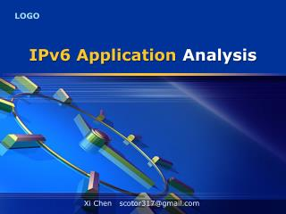 IPv6 Application Analysis