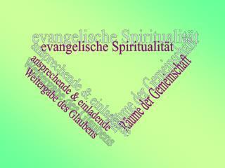 evangelische Spiritualität