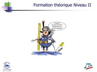 Formation th�orique  Niveau  II