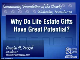 Community Foundation of the Ozarks Wednesday, November 29