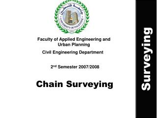 Chain Surveying