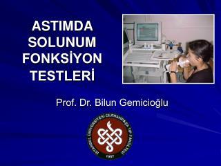 ASTIMDA  SOLUNUM FONKSİYON TESTLERİ