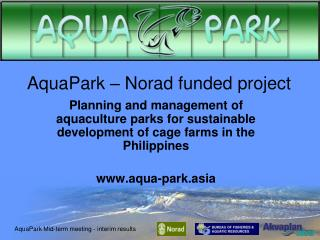 AquaPark – Norad funded project