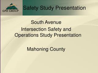 Safety Study Presentation