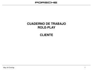 CUADERNO DE TRABAJO ROLE-PLAY CLIENTE