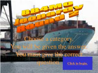 BB4M0 Jeopardy Round 2