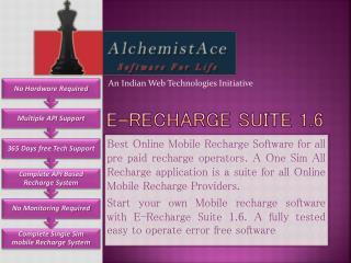 E-Recharge Suite 1.6