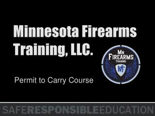 Minnesota Firearms Training, LLC.