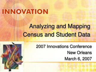 Analyzing and Mapping Census and Student Data