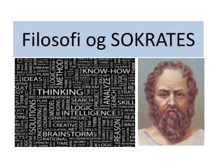 Filosofi og SOKRATES
