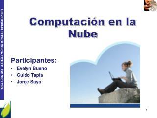 Computaci�n en la Nube