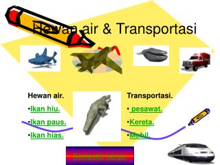Hewan air & Transportasi
