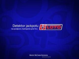 loto detektor