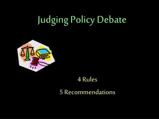 Judging Policy Debate