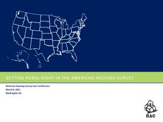 Getting rural Right in the American housing survey