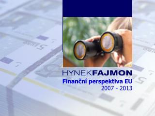 Finanční perspektiva EU  2007 - 2013