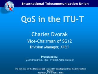QoS in the ITU-T