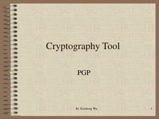 Cryptography Tool