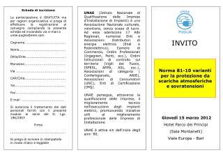 Norma 81-10 varianti per la protezione da scariche atmosferiche e sovratensioni